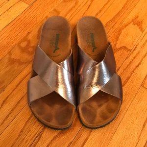 Shoes - BioNatura Bronze Sandels